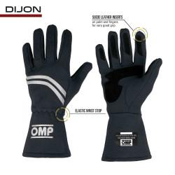 OMP - Dijon Vintage Racing Gloves FIA Approved