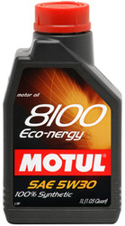 Motul 8100 Eco-Nergy 5w30 100% Synthetic Engine Oil