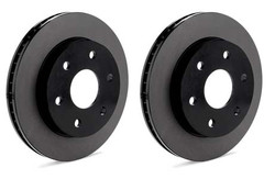 Centric Premium Brake Rotors Nissan 350z Z33 Brembo FRONT