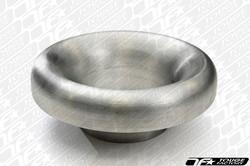 "Vibrant Bellmouth Aluminum Velocity Stacks - 2.5"" Inlet O.D / 6"" Bellmouth O.D"