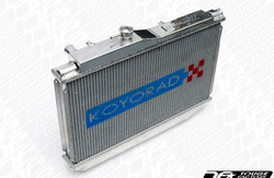 Koyo Aluminum V-Core Racing Radiator - Infiniti 03-07 G35 Coupe