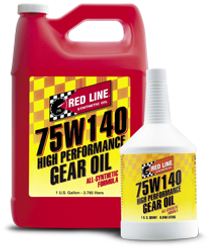 Red Line Synthetic Gear Oil For Differentials GL-5