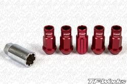 WORK RS-R Aluminum Racing Lug Nuts with Locks