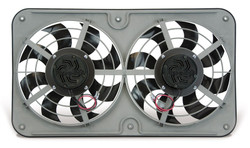 "Flex-a-lite FAL Dual Shrouded 12"" Electric Radiator Cooling Fans - Puller / Pusher Rerversible"