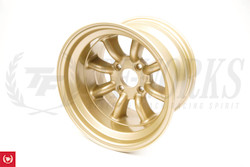 RS Watanabe R-Type Aluminum Racing Wheels 15x9.5 -19