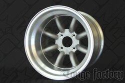 RS Watanabe R-Type Aluminum Racing Wheels 15x12 -51