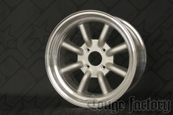 RS Watanabe R-Type Aluminum Racing Wheels 16x8 +0