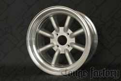 RS Watanabe R-Type Aluminum Racing Wheels 16x8.5 -6