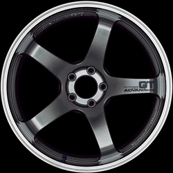 ADVAN Racing GT Machining & Racing Hyper Black: 20x9 (5/114.3)