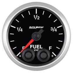 Auto Meter Elite Fuel Level Programmable Empty to Full Range Gauge 52mm