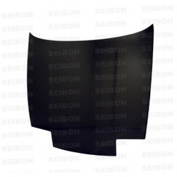 Seibon - OEM Style Carbon Fiber Hood - S13 Pop-Up