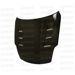 Seibon TS-style carbon fiber hood for 2002-2006 Nissan 350Z