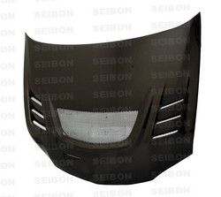 Seibon CW-style carbon fiber hood for 2003-2007 Mitsubishi Lancer EVO