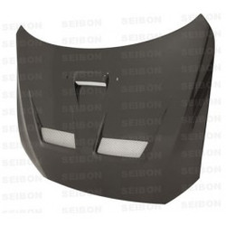 Seibon CW-style carbon fiber hood for 2008-2010 Mitsubishi Lancer EVO X