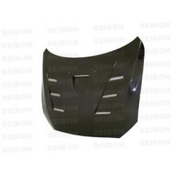 Seibon TS-style carbon fiber hood for 2008-2010 Mitsubishi Lancer EVO X