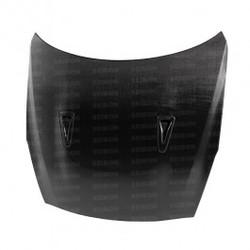 Seibon OEM-style carbon fiber hood for 2009-2012 Nissan GTR