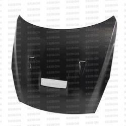 Seibon VSII-style carbon fiber hood for 2009-2012 Nissan GTR