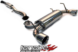 Tanabe Medalion Touring Catback System for Infiniti G35 Coupe 03-07