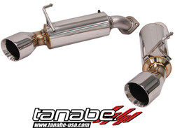 Tanabe Medalion Touring Catback System for Infiniti G37 Coupe 08-11