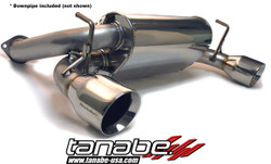Tanabe Medalion Touring Catback System for Nissan 350Z 03-08