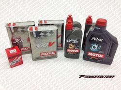 Complete Fluid Change Nissan S13/S14  SR / KA - Motul 300V Engine Oil Package - Oversize Oil Pan