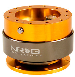 NRG Quick Release Gen 2.0 - Rose Gold Body w/ Titanium Chrome Ring