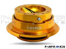 NRG Quick Release Kit Gen 2.8 (Rose Gold Body w/ Diamond Cut  Ring)