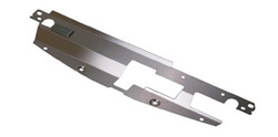 NRG Stainless Steel Air Diversion Panel for 2003-06 Mitsubishi EVO VII/ IX