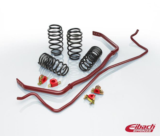 Eibach Springs Pro-Plus (Pro-Kit Springs & Anti-Roll Kit Sway Bars)- Honda S2000 2000-09