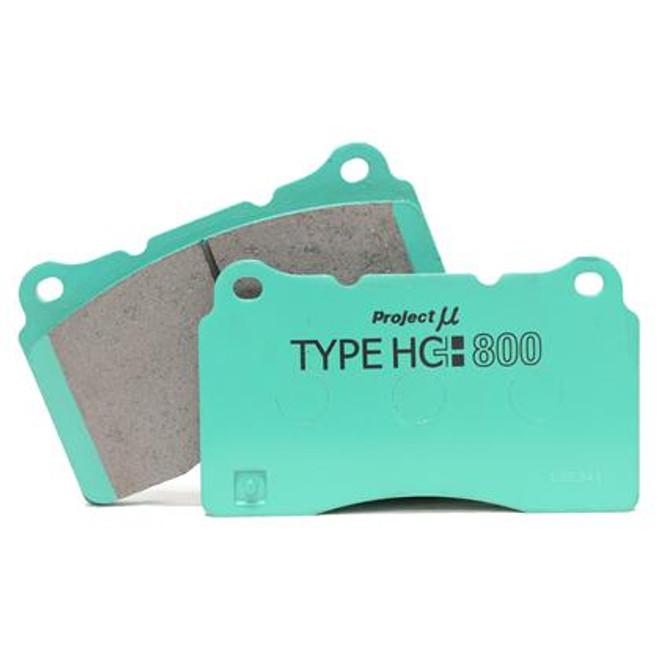 Project Mu HC+ 800 Rear Brake Pads Scion FR-S & Subaru BRZ