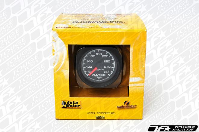 AutoMeter ES Series Water Temperature Gauge- Full Sweep Electric
