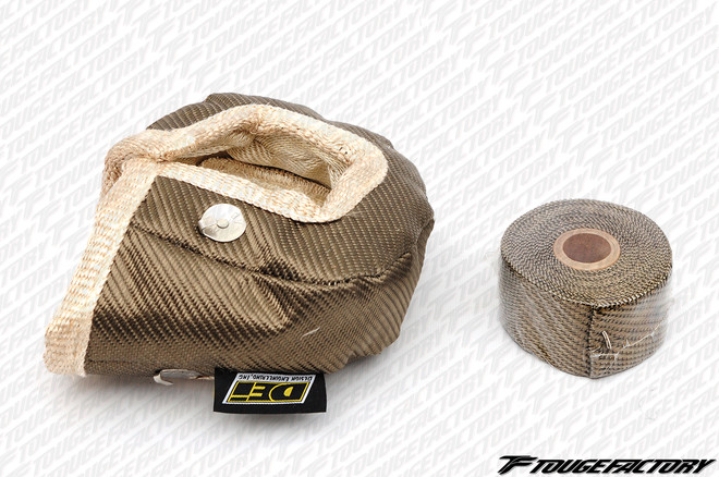 DEi Titanium Turbo Sleeve / Heat Shield Blanket Kit - T3