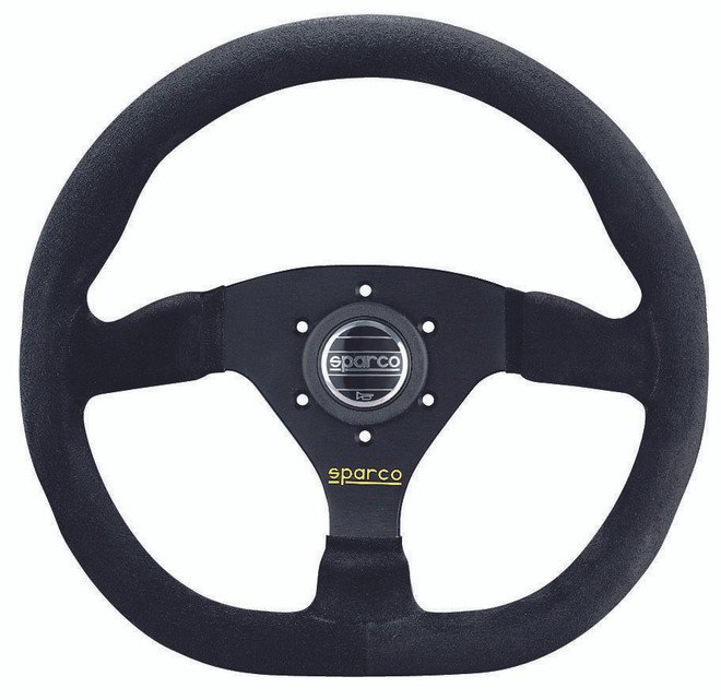 Sparco Street L360 Steering Wheel - 350mm Dia. - Suede or Leather