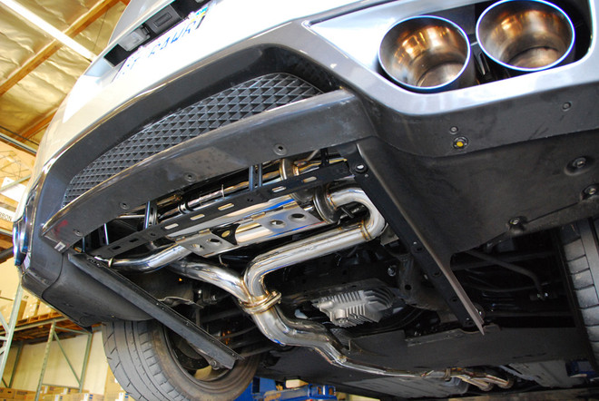 MXP Performance Stainless Steel Exhaust System w/ Resonator - Nissan GTR R35