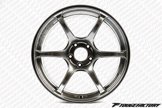 Advan RGIII - Racing Hyper Black - 4x100 - 6-Spoke - 17x7.0 +47, +42