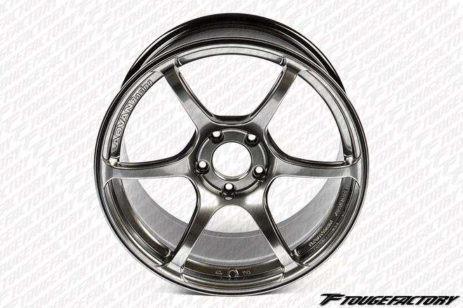 Advan RGIII - Racing Hyper Black - 5x100.0/5x114.3 - 6-Spoke - 17x8.0 (+54/+48/+45/+38)