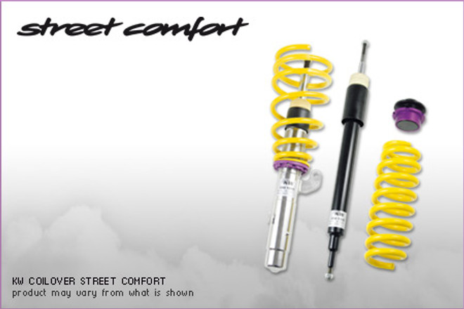 KW Suspension 'Street Comfort' Coilover Kit - BMW 3 Series E46 '99-06