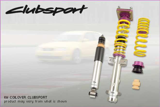 KW Suspension 'Clubsport' 3-Way Coilover Kit - Subaru Impreza STi G12 '08-13