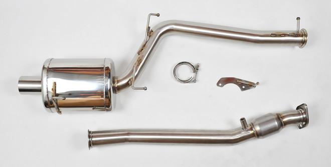 "Berk 00-03 AP1 Honda S2000 3"" Header Back Exhaust With High Flow Cat"