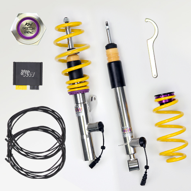 KW Suspension Dynamic Damping Control (DDC) Coilover Kit w/ Electronic Control Unit (ECU) - BMW M3 E92 '08-12