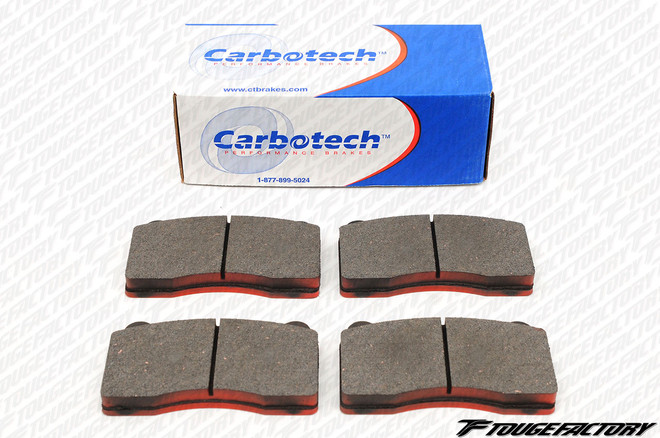 Carbotech AX6 Brake Pads - Front CT1001A - Mitsubishi Evo 10
