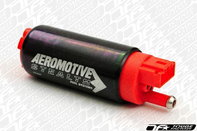 Aeromotive 340LPH Stealth Fuel Pump - Offset Inlet - Inline