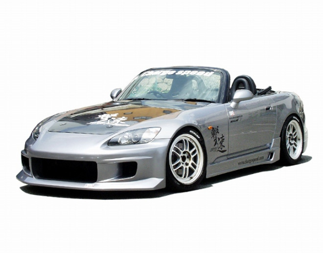 Charge Speed Front  Bumper: FRP - Honda S2000 AP1/2
