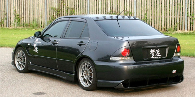 Charge Speed Rear Bumper: FRP - Lexus IS300