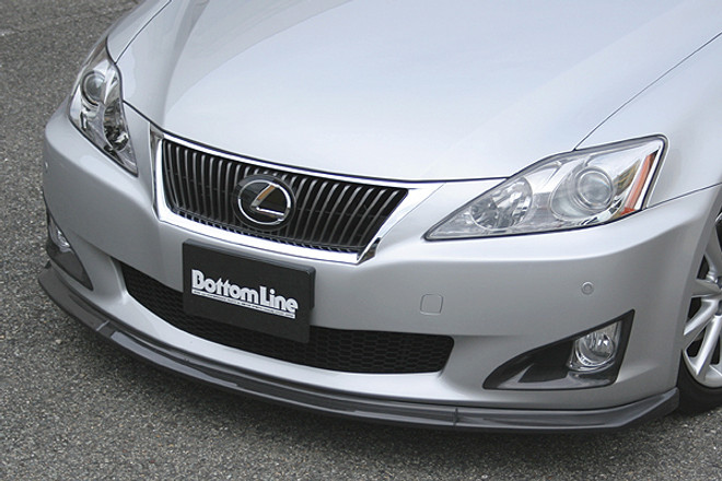 Charge Speed Bottom Line Front Lip: Carbon - Lexus IS250/350