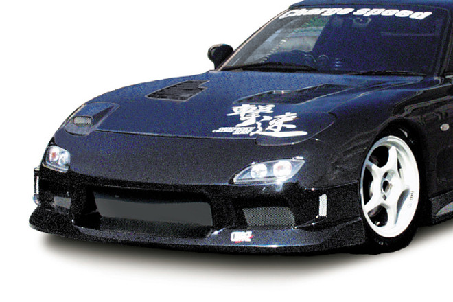 Charge Speed Front Bumper: FRP - Mazda RX-7 FD