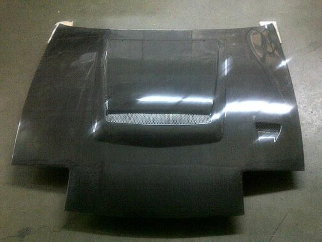 Charge Speed Flip-Eye Vented Carbon Fiber Hood - Nissan 240SX S13
