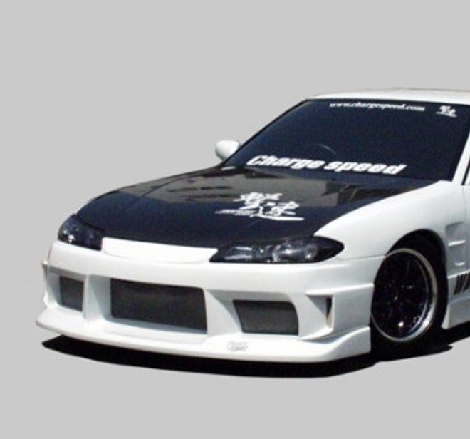 Charge Speed FRP Front Bumper - Nissan 240SX S15