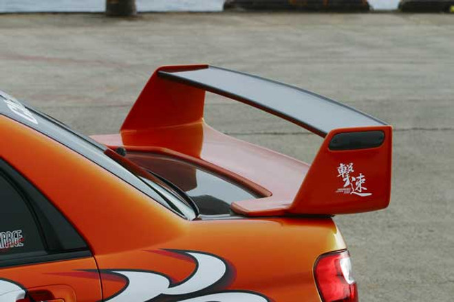 Charge Speed Carbon WR Wing - Subaru WRX GD