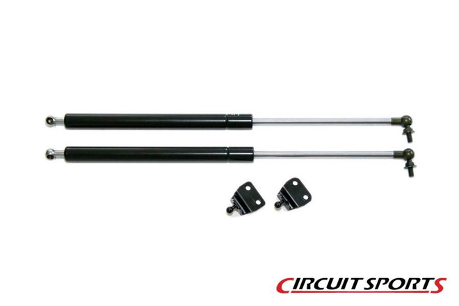 Circuit Sports Black Rear Hatch Dampers - Nissan 350Z Z33